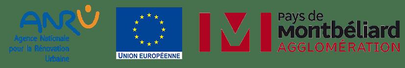 logos partenaires projet hexagones 2024 petite hollande montbéliard