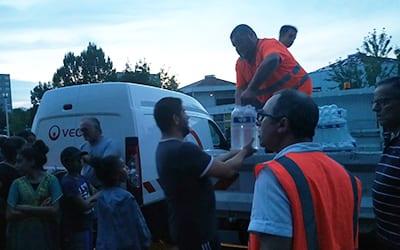 Distribution de bouteilles d'eau Portes du JURA
