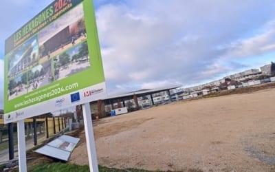 Les travaux de terrassement du futur pôle de services sont en cours