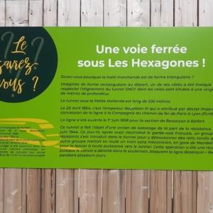 Le saviez-vous ? Palissade Les Hexagones 2024 Montbéliard