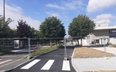 Ré-ouverture de l'avenue Mitterrand